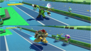 Mario & Sonic at the Rio 2016 Olympic Games - Vector VS Bowser Triple Jump