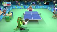 Mario & Sonic at the Rio 2016 Olympic Games - Vector VS Wario Table Tennis