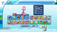 Mario Sonic Olympic Winter Games Characer Select 07