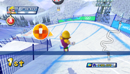 Mario Sonic Olympic Winter Games Gameplay 121
