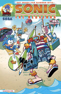 Sonic The Hedgehog -261 (variant)