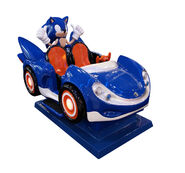 Sonic kiddie ride