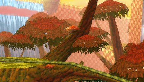 File:Sunset Forest Background 1.png