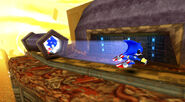 Death Yard Sonic vs Metal Sonic
