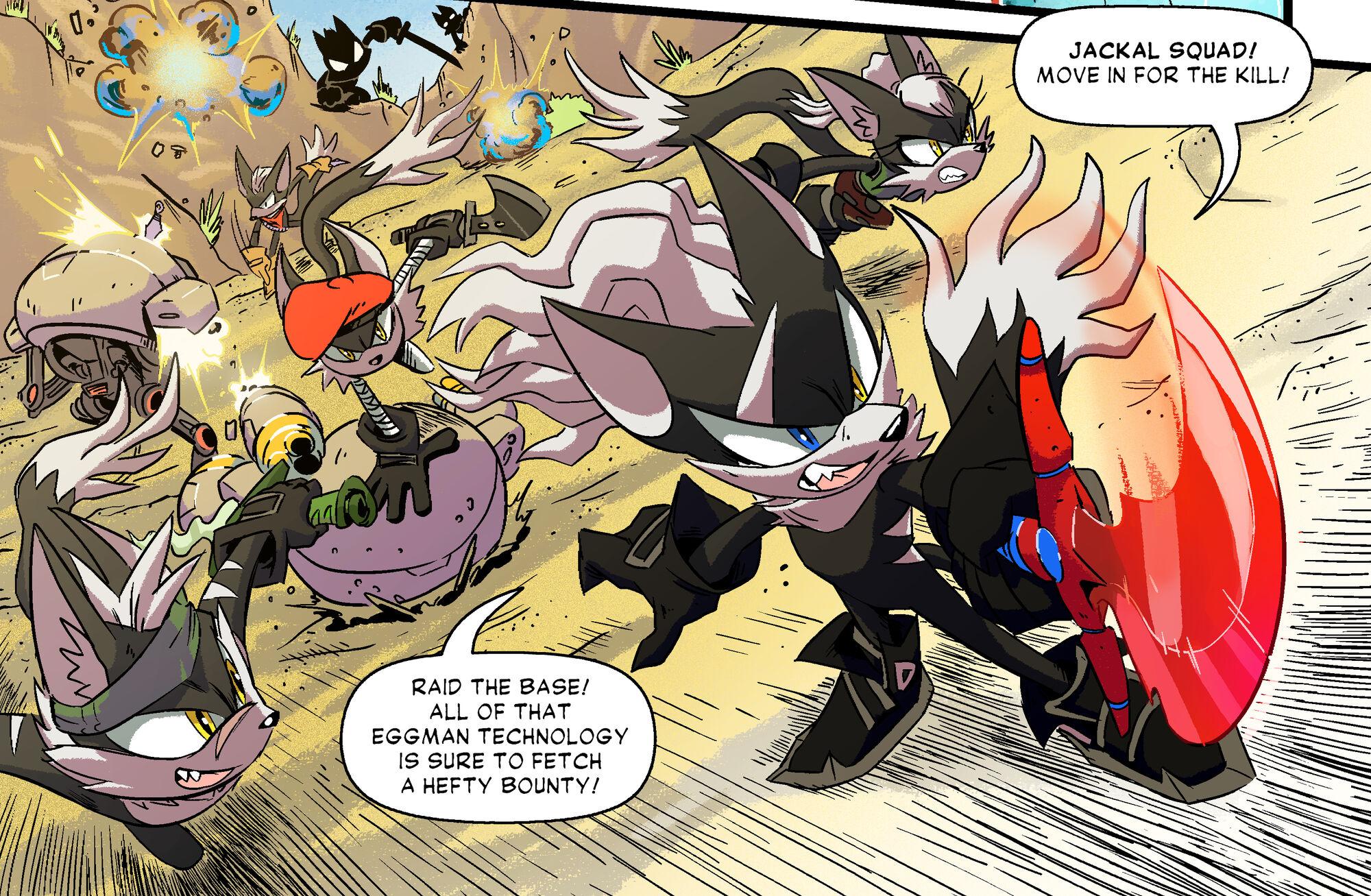 Jackal Squad Sonic Wiki Fandom Powered By Wikia