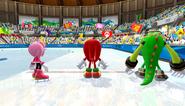 Mario Sonic Olympic Winter Games Gameplay 061