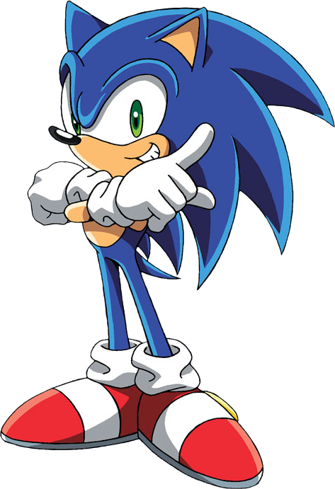 Sonic The Hedgehog coloring page Free