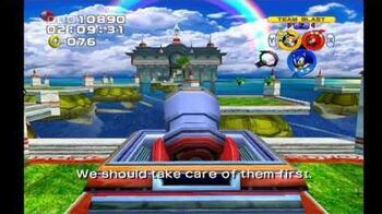 Sonic Heroes Ocean Palace (Team Sonic)