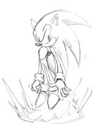 Adventure Super Sonic koncept