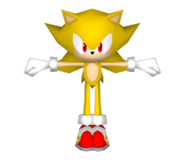 Colors DS Super Sonic model