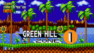 Green Hill Zone Mania Card