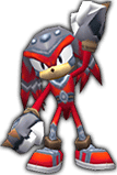 Knuckles Rivals costume 4