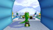 Mario Sonic Olympic Winter Games Gameplay 134