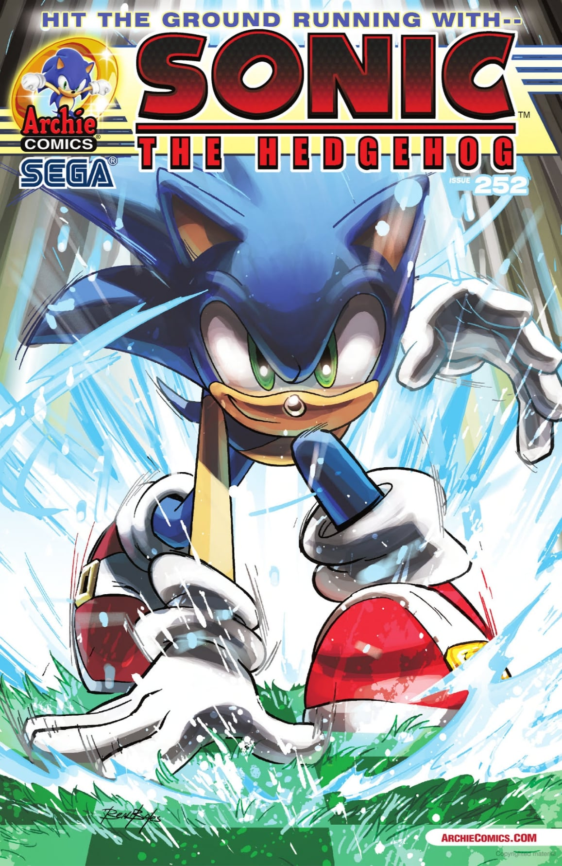 Image result for archie sonic 252