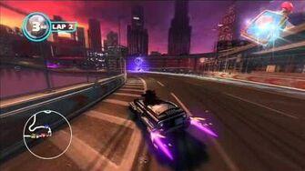 Sonic & All Stars Racing Transformed Graffiti City 1080 HD