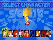 Sonic R select Super