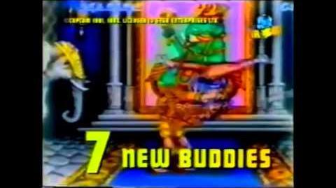 Streetfighter II Sega Megadrive Commercial (Sega Pirate TV)