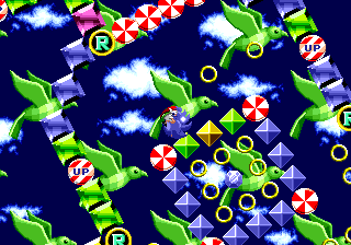 Special Stage Sonic The Hedgehog 16 Bit Sonic News Network Fandom
