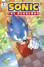 IDW Sonic The Hedgehog-1v1