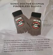 LootCrate Eggman gloves description