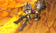 Sonic & The Black Knight Blaze And Sonic
