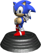 Generations statue Classic Sonic