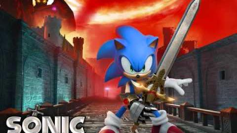 Live life sonic the hedgehog black knight-full