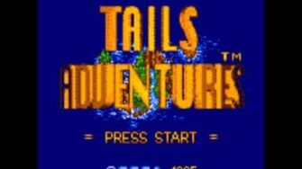 Tails Adventures Music Lake Rocky
