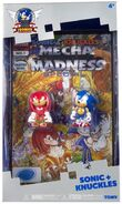 Tomy Sonic 25th Anniversary figure Comic 2 Pack Sonic and Knuckles