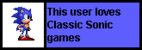 Userbox- Classic Sonic
