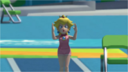 Mario & Sonic at the Rio 2016 Olympic Games - Peach Triple Jump