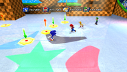 Mario Sonic Olympic Winter Games Gameplay 358