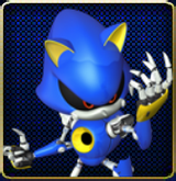 Metal Sonic Website Icon HD