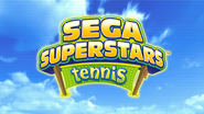SEGA Superstars Tennis - Title Screen