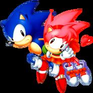 Sonic CD Sonic art 3