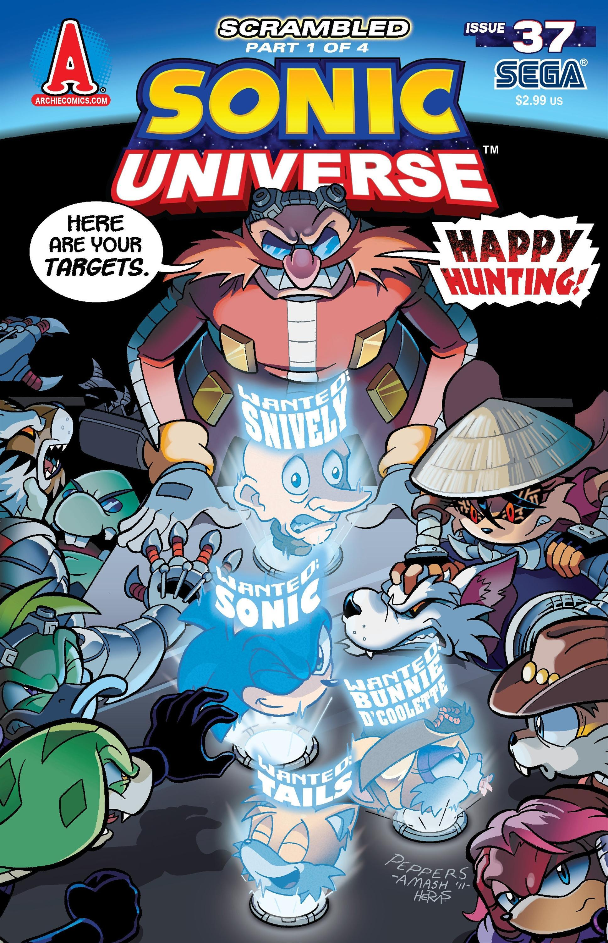 Archie Sonic Universe Issue 37 Sonic News Network