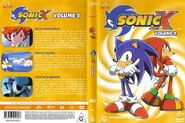Sonic X Volume 2 AUS front cover