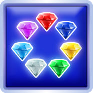 Chaos Emerald trophy 3