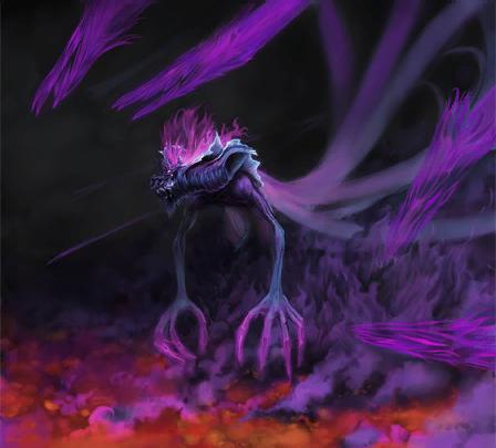 File:Dark Gaia Sega Art by Shalweas.png