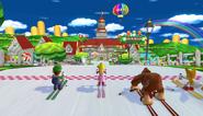 Mario Sonic Olympic Winter Games Gameplay 155