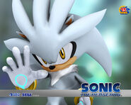 Silver Sonic 2006 wallpaper