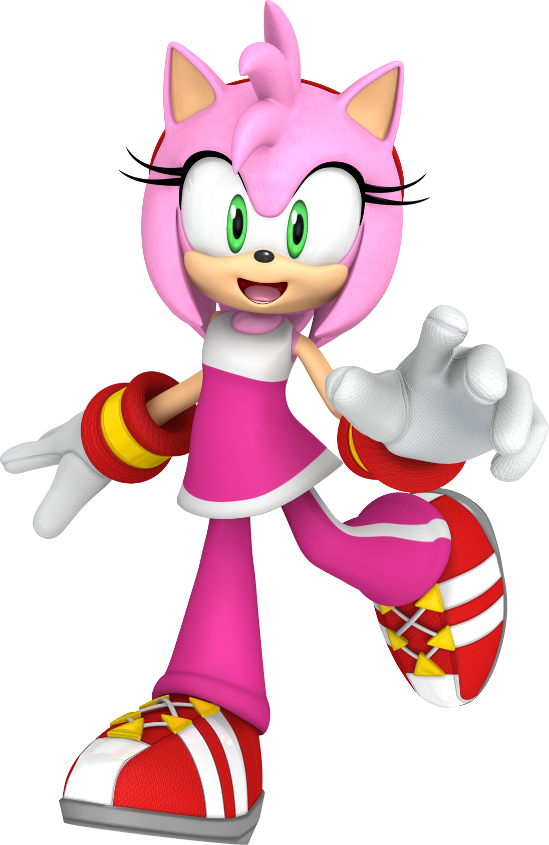 Amy Rose And Rouge Kiss amy rose/history and appearances | sonic news network | fandom