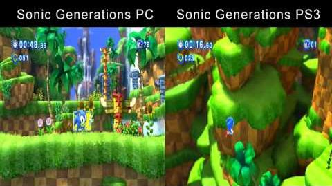 Video - Sonic Generations Why I Play On PC (PC vs  PS3