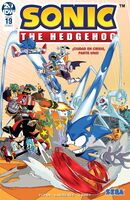 IDW Sonic the Hedgehog Issue 19