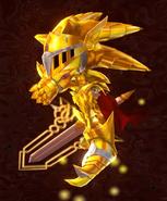 Victory Pose Excalibur Sonic