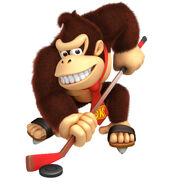 Winter Olympics Donkey Kong 1