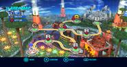 Planet Wisp Wii mapa