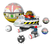 S4 Model Flying Eggman