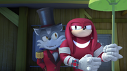 T.W Barker and Knuckles