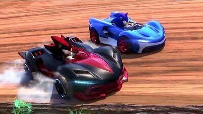 Team Sonic Racing E3 Trailer ES